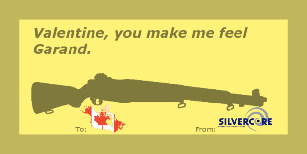 Happy Valentines Day from Silvercore Firearms Training BC